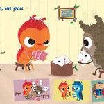 magazine Toupie comtpine illustrations -  laurence jammes, marc clamens - ed.Milan presse
