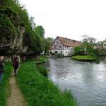 Pegnitzufer bei Velden
