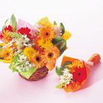 雑誌『クララ』発表会にあげたい花束 ①