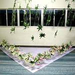 2007 大泉高校華道部文化祭展示