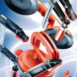 Utensili per tirare e sollevare: morse, ghiere, sifoni, utensili da sollevamento
