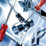 Utensili per avvitare: chiavi dinamometriche con impugnatura snodata, cacciaviti, bit-set, chiavi, chiavi a brugola