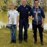 Fischerkönige 2017: Jugend Stake Maximilian; Erwachene Rupprecht Tobias