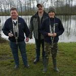 Fischerkönige 2012: Jugend Götz Marco; Erwachsene: Fuchs Werner