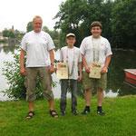 Fischerkönige 2009: Jugend Scharf Fabian; Erwachsene: Würstl Jörg