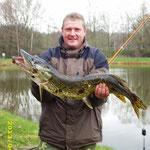Hecht - Herrenweiher - Raubfischanangeln 2013