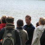 Andreas bei einer Exkursion um den Großen Heiligen See