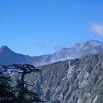 表銀座コース・西岳下山道から