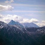 立山雄岳から 雪の槍ヶ岳