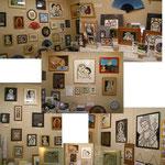 2007年11月 Love & Peace 展 (第5回)  小さな画廊 景 にて