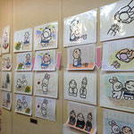 2012年 11月  Love & Peace 展 (第10回)  小さな画廊 景 にて  絵本の原画です