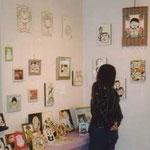 2001年10月 ほのかかおり個展  ギャラリーミロにて