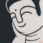 96年作品 神奈川きりえの会に初めて出した作品