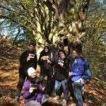 Das waren wir beim FREUND-lichen Waldbad