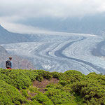 Der Blick auf den Großen Aletschgletscher ist fantastisch