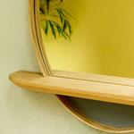 Spiegelbord aus Esche