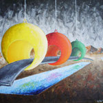 2000 - carattere - oil on canvas - 50 x 70