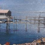 2014 - trabucco - mixed media with oilfinish on PVC - 199 x 60