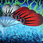 2003 - vacanze - oil on canvas 70 x 50