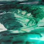 2011 - bio gambas - mixed media with oilfinish on PVC - 168 x 61