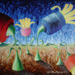 2004 - ditte in fallimento - oil on canvas 70 x 50