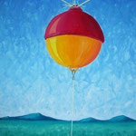 1996 - sostegno - oil on canvas - 50 x 70
