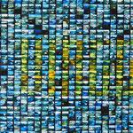 2006 - il viaggio - mixed media photocollage on canvas - 120 x 60