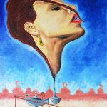 1995 - genia - oil on canvas - 50 x 70