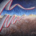 2001 - ondavitale - oil on canvas 70 x 50