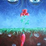 1995 - nascosto - oil on canvas - 50 x 70