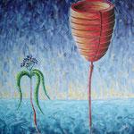 2005 - *radice - oil on canvas 50 x 70