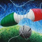 2004 - tra passione e delusione - oil on canvas 70 x 50