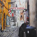 2015 - *arte sarda - mixed media with oilfinish on PVC - 66 x 97