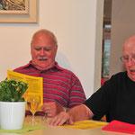 Ständchen im Alterszentrum am Etzel in Feusisberg zusammen mit Ehrenmitglied Fredy Fröhlich - Juli 2013