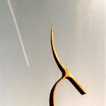 Himmelwärts - Schmiedestudie aus einem I-Träger, 2005