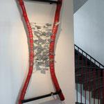 """""""Korrespondenzen"""" - Objekt für dauerhafte Sammlung, Unternehmerinnenzentrum Hannover, 2008"""