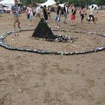 "Installation auf ""Fusion-Festival"" 2008"