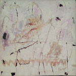 """Autor: Francisco Huazo  Título: De la Serie """"Mar"""" Técnica: Mosaico con pigmentos cerámicos, óleo y tierras / panel de madera, con marco. Medidas: 36cm x 36cm Año: 2015 Clave: 15 FH 05"""