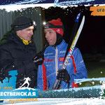 интервью на финише с многократным чемпионом мира по спортивному ориентированию Эдуардом Хренниковым
