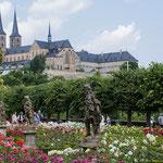 Blick auf's Kloster Bamberg