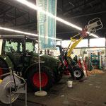 Landtechnik an der Agrimesse