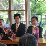 成瀬西日本区理事も参加。