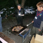 藤本義、自家生産の豚ロース めっちゃおいしかったです。