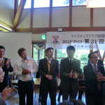 左から、五嶋さん、藤本義隆さん、梅井さん、大久保さん、久保さん
