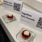 Pageflow FAU-Chronik-Link und Website  «der arbeitsmarkt»-Link
