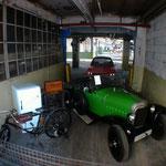 Opel Nähmaschine,Fahrräder, Kühlschränke und Autos( Laubfrosch)