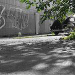 Foto: Volvo Buckel 544 Favorit  -mit Photoshop bearbeitet.