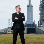 Elon Musk, CEO von SpaceX