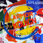 "0145 ""ARMOR KOUIGN"" Acrylique/toile 100x100cm 2019 2000€"