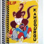 """87 """"Kangourou"""" acrylique/toile 100x80cm 2010 900€"""